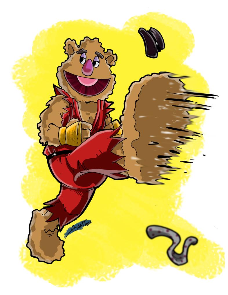 Fozzie Bear by geogant