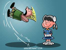 Peanuts Fighter II by geogant