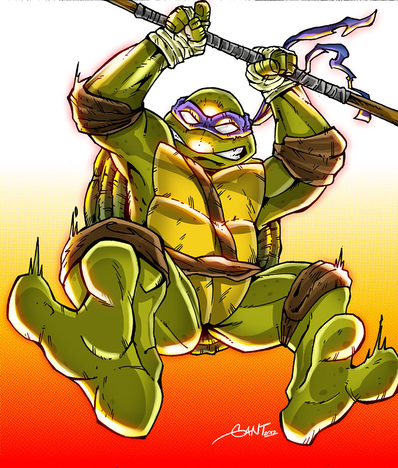 TMNT - Donatello by geogant