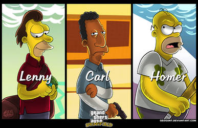 Grand Theft Auto: Springfield by geogant