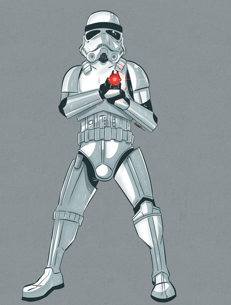 Stormtrooper by geogant