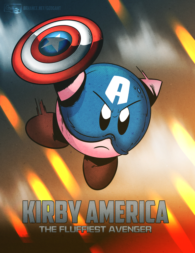 Kirby America: The Fluffiest Avenger by geogant