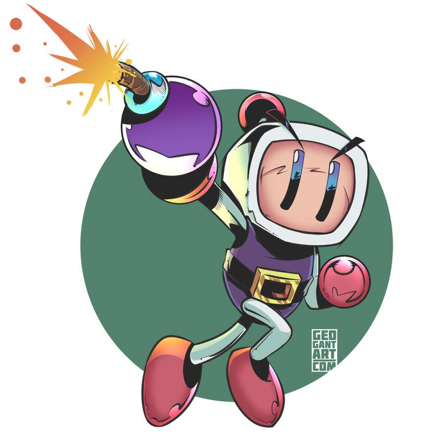 Bomberman by geogant