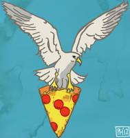 Stollen Pizza by Phenzyart