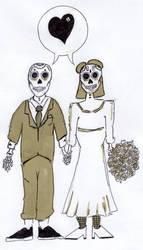 Day 8 (Wedding) by Phenzyart
