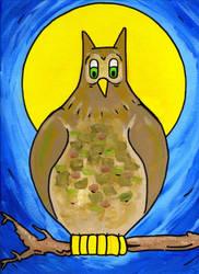 Big Owl by Phenzyart