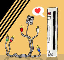 The Wii Loves Component by Phenzyart