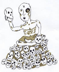 Day 15 (I want your Skulls) by Phenzyart