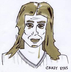 Day 23 (Crazy Eyes) by Phenzyart