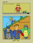 Mario 3 comic (Page 1)