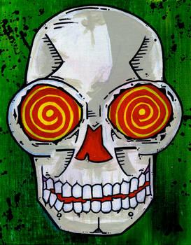 Swirly Skull