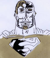 Cyborg Superman (Day 358) by Phenzyart
