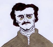 Poe (Day 358) by Phenzyart