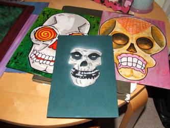 I want your Skulls (works in progress) by Phenzyart