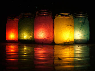 Gypsy Lanterns by Phenzyart