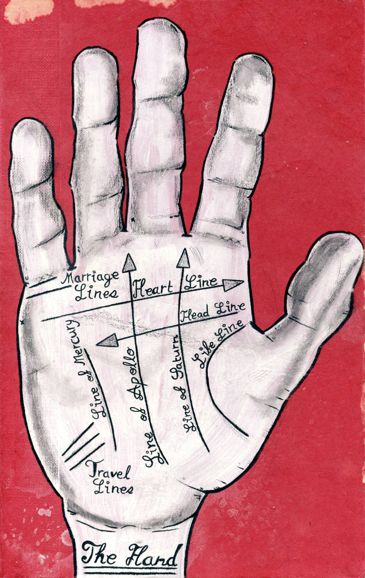 The Hand by Phenzyart