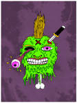Zombie King poster/flyer purple variant