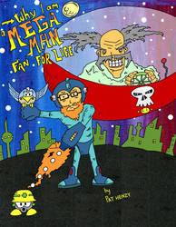 Megaman comic (Cover) by Phenzyart