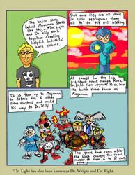 Megaman comic (Page 2) by Phenzyart