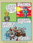 Megaman comic (Page 2) by Phenzyart