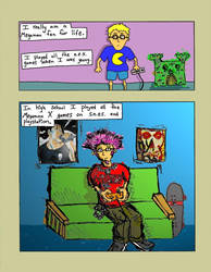 Megaman comic (Page 6) by Phenzyart