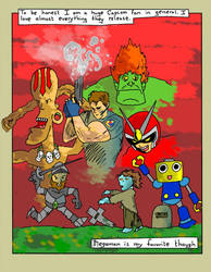 Megaman comic (Page 8) by Phenzyart