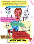 Megaman comic (Thank You page)