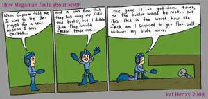 Megaman 9 comic strip