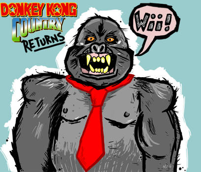 Donkey Kong by Phenzyart