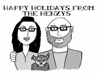 Our Christmas cards!