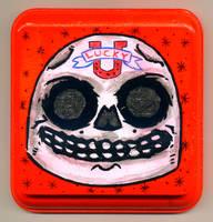 Lucky Skull by Phenzyart