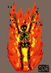 Burn by Phenzyart
