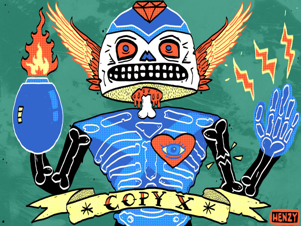 Copy X by Phenzyart