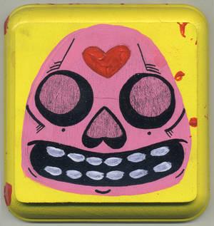 Creepy Love Skull
