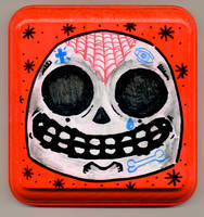 Tattooed Skull by Phenzyart