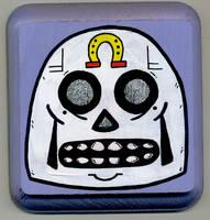 Lucky Skull 2 by Phenzyart