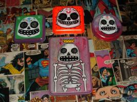 Some more skulls by Phenzyart