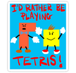 Tetris Sticker! by Phenzyart