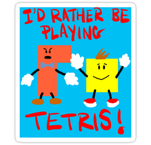 Tetris Sticker!