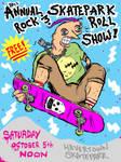 10th Annual Skatepark Show Flyer