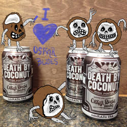 Death by Coconut by Phenzyart
