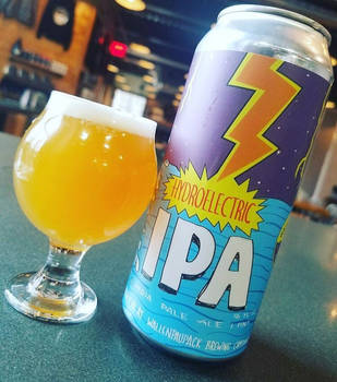Wallenpaupack Hydroelectric IPA by Phenzyart