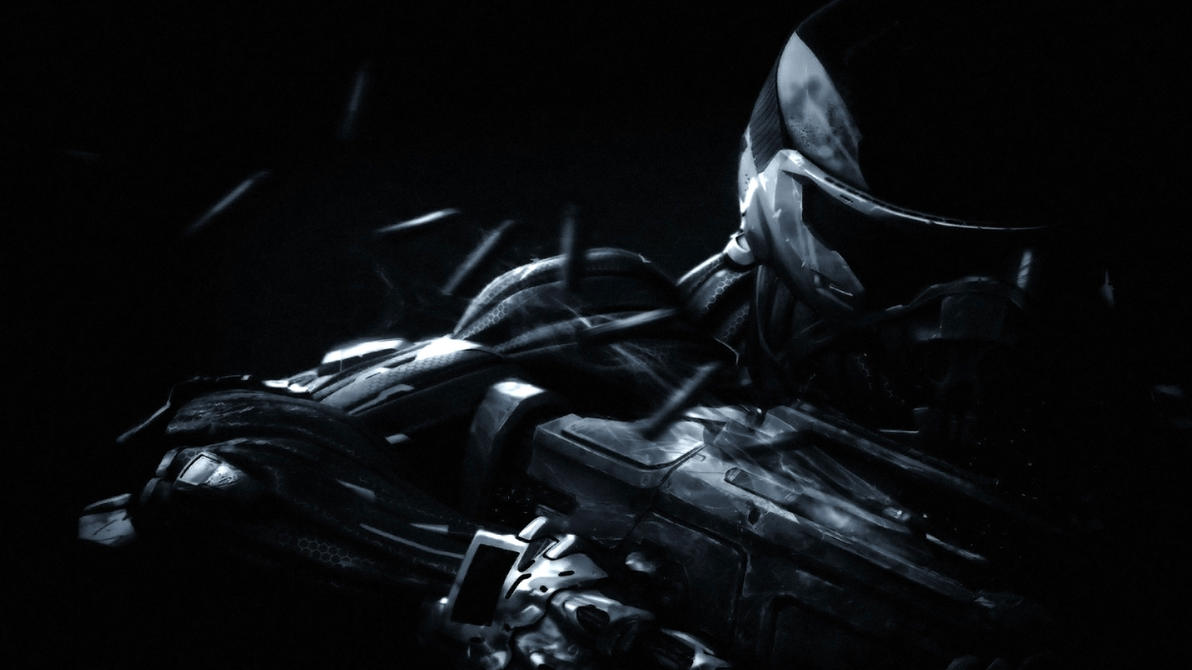 Crysis 3 Black Wallpaper By Dragoblack1