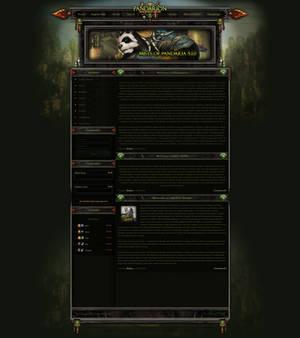 MoP FusionCMS 6 Theme | Pandarion 5.1.0