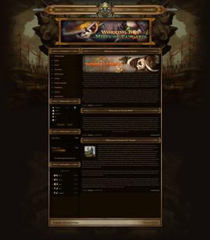 Panda X PvP Theme for FusionCMS v6!
