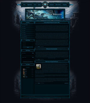 Frozen Breath | Wotlk Theme for Fusion CMS