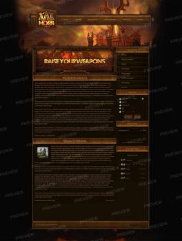 Cataclysm - Uniquestyle Theme for FusionCMS v6