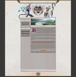 FusionCMS | First White WoW Design | For Sale