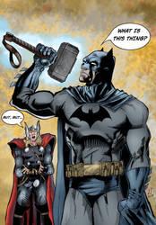 Batman is worthy by Inhuman00