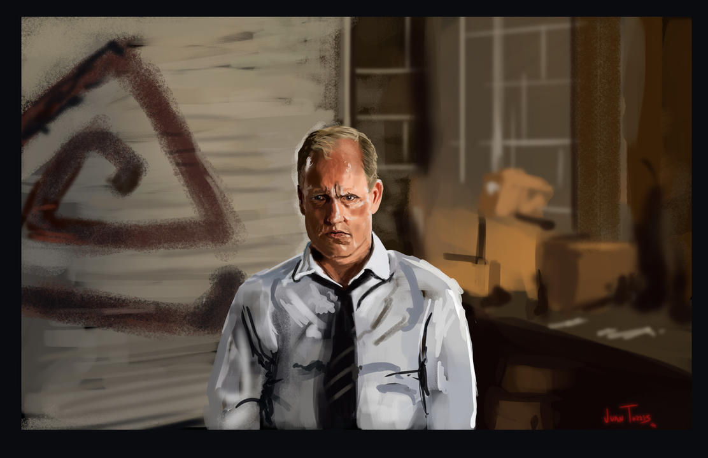 True Detective Martin Hart by Inhuman00